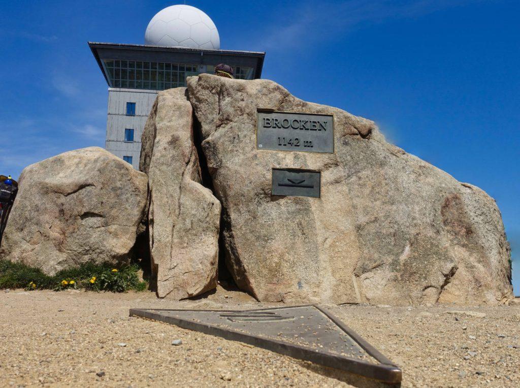 Gipfelstein auf dem Brocken