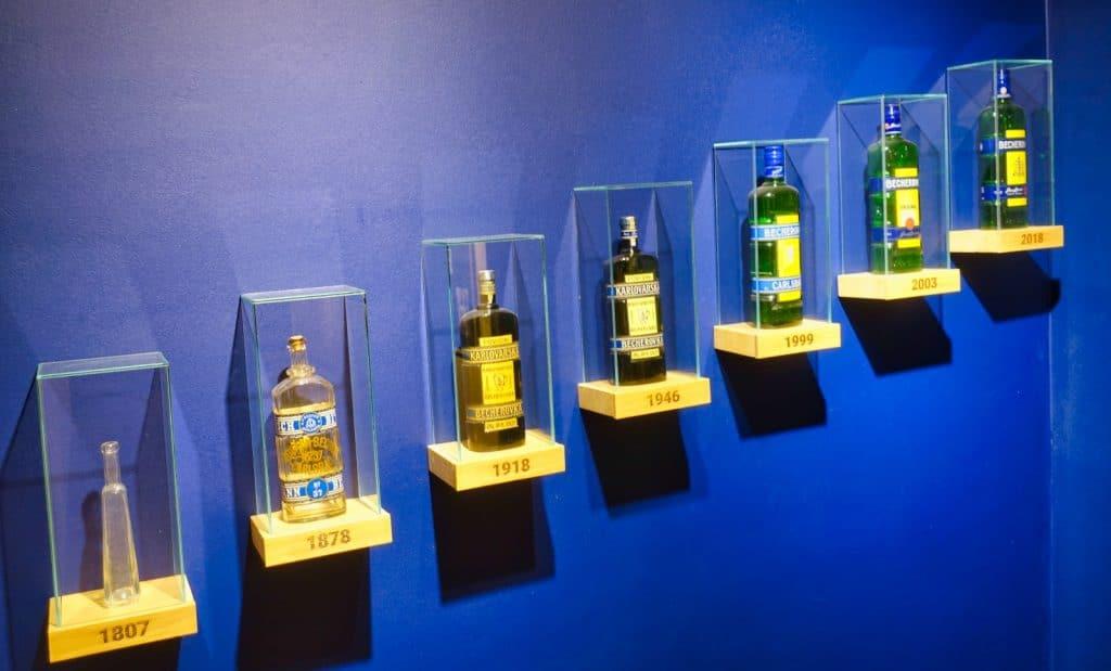 verschiedene Flaschendesigns