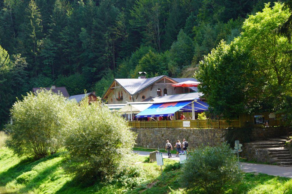 Ausflugslokal am Hans-Heiling-Felsen
