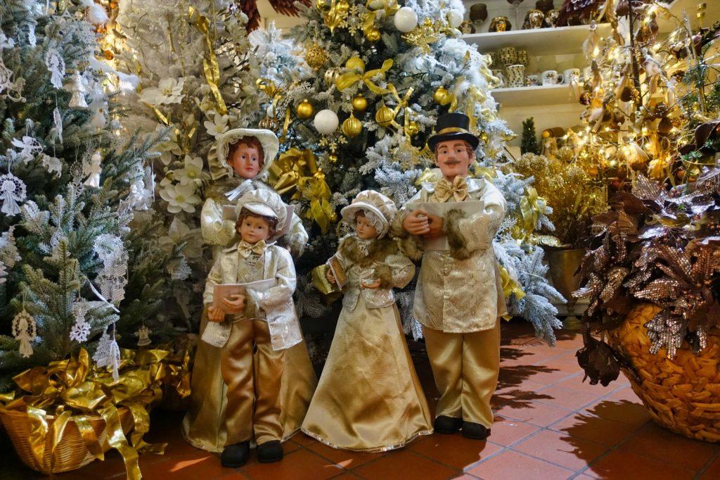 Weihnachtshaus Karlsbad Verkaufsausstellung