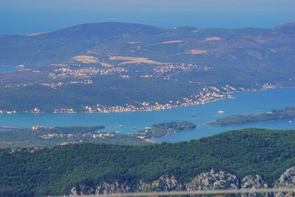 Montenegro Weg über die Berge