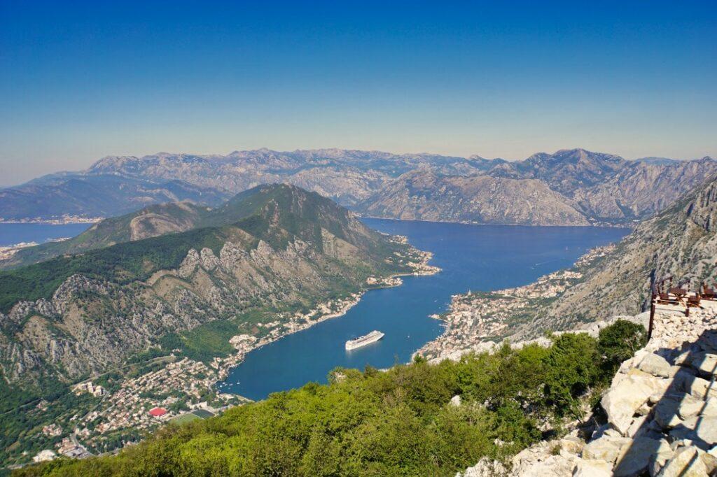 Aussichtspunkt auf dem Weg nach Kotor