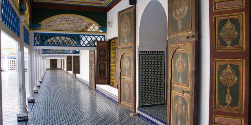 Ehrenhof im Bahia Palast Marrakesch