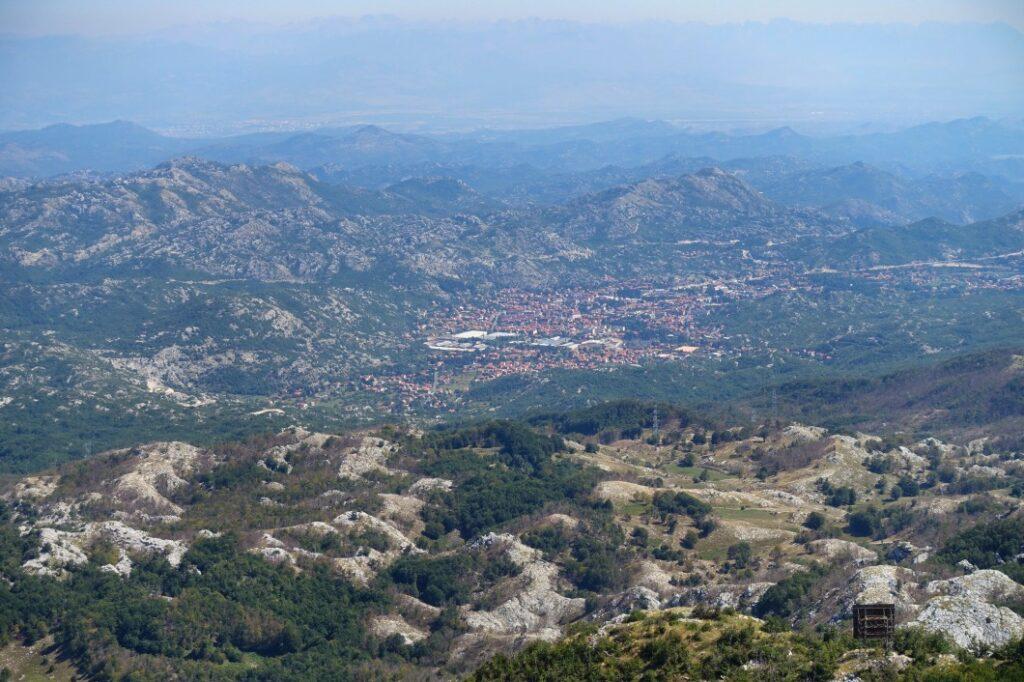 Ausblick mach Cetinje