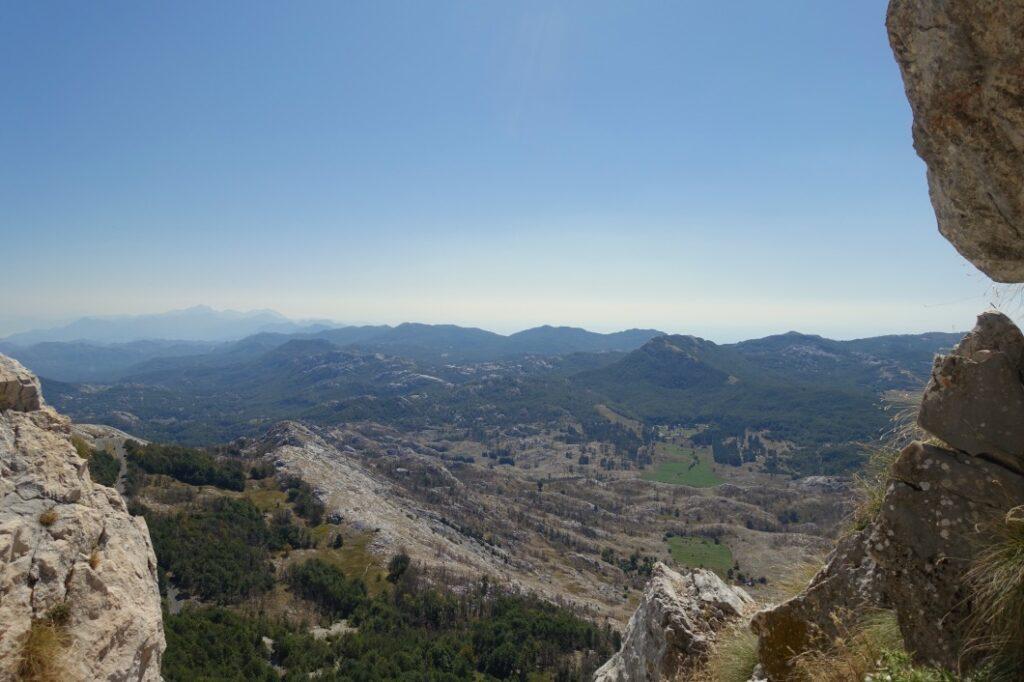 Blick über Montenegro