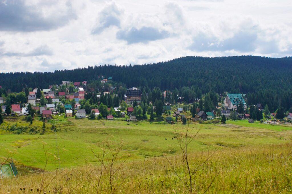 Blick nach Žabljak