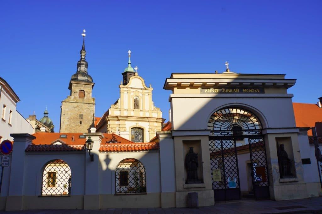 Kloster in Pilsen