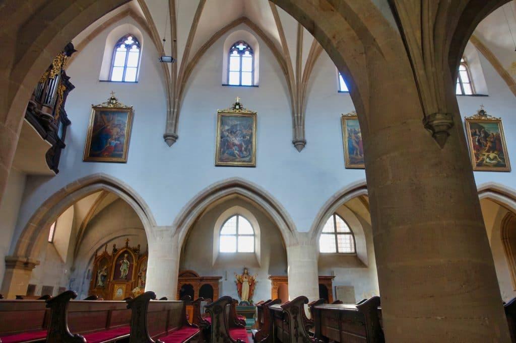 Blick in die Klosterkirche