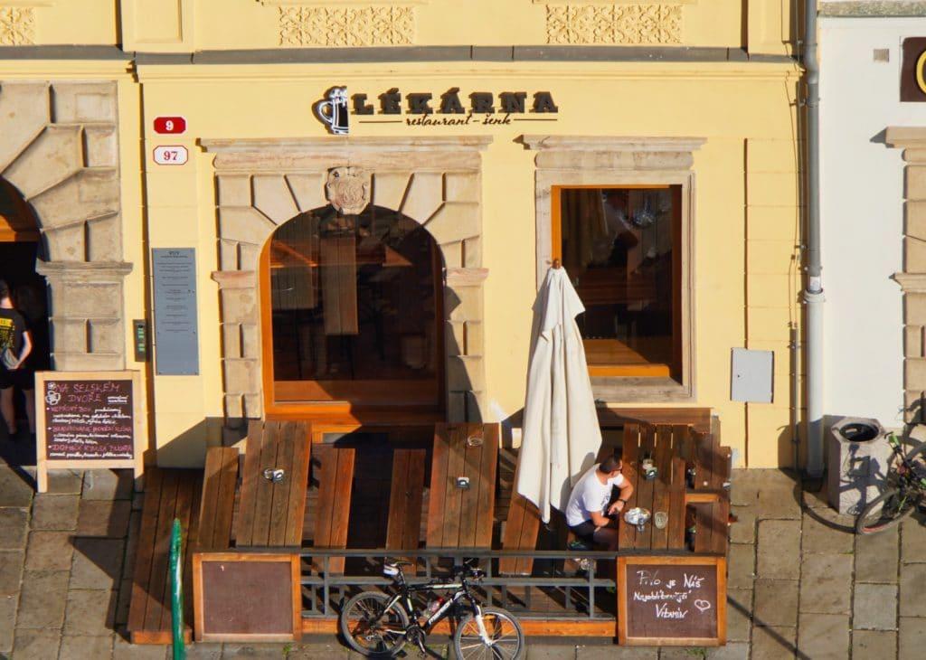 Restaurant Lekarna in Pilsen