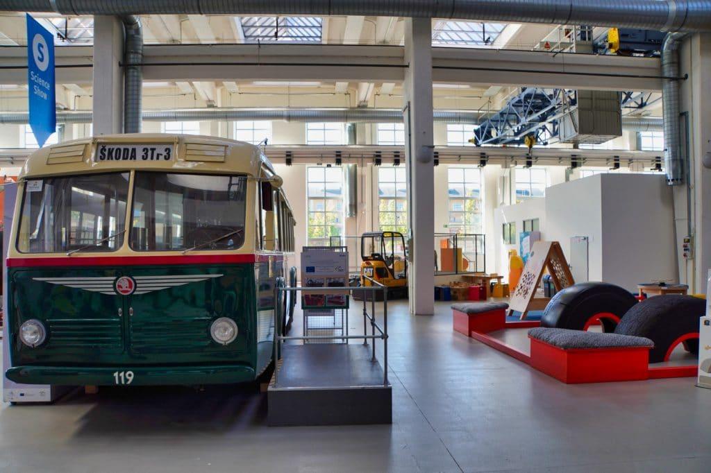 Bus der Firma Škoda