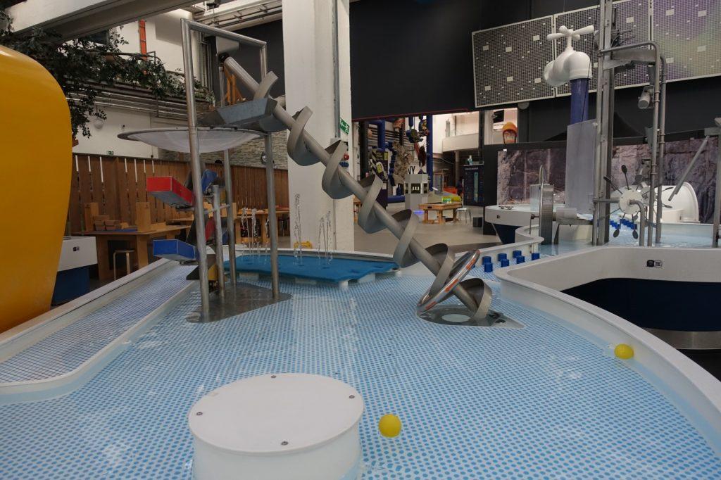 Ausstellungsbereich Wasserwelt