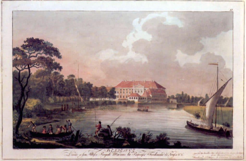 Berlin, Schloss Bellevue, Radierung von Carl Benjamin Schwarz, 1797.jpg