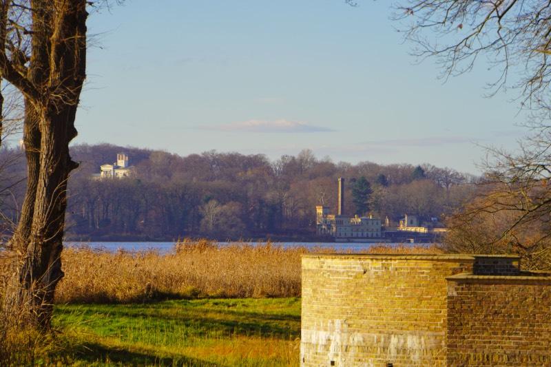 Sacrow Blick nach Potsdam