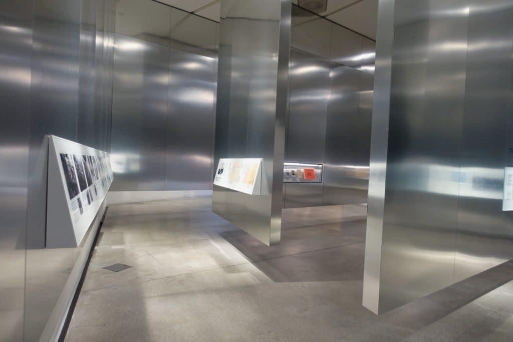 Gestaltung der Ausstellungsräume