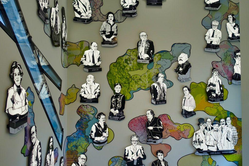 Jüdisches Museum Berlin - Kunst im Treppenhaus