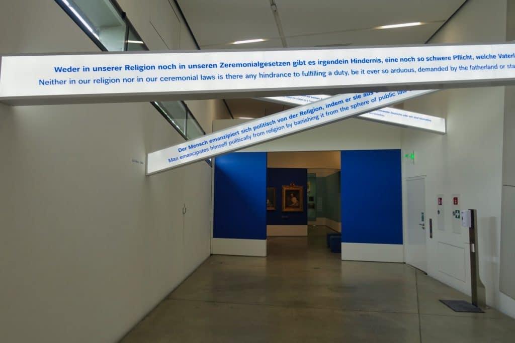 Ausstellungsgestaltung Jüdisches Museum Berlin