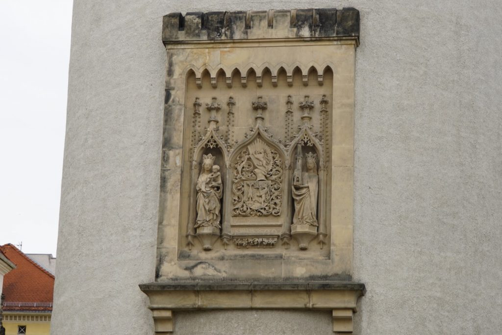 Dicker Turm Relief