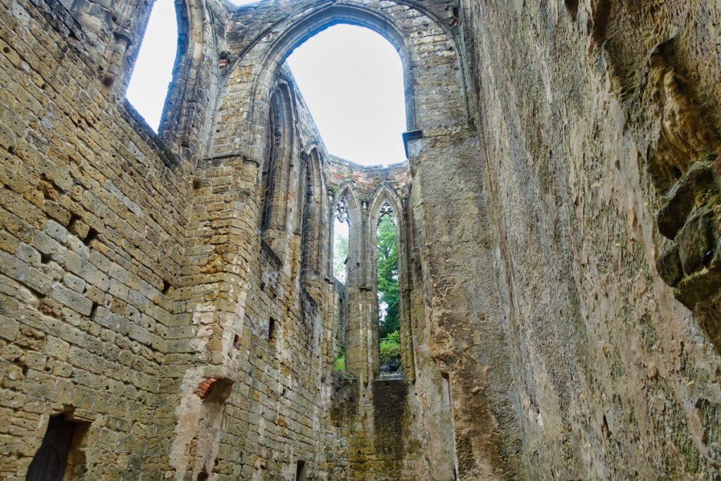 Oybin Ruine der Kirche
