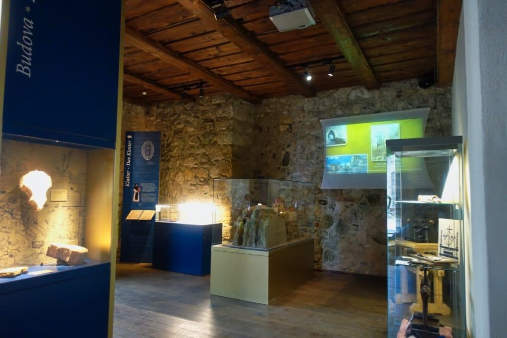 Blick in das Museum auf dem Oybin