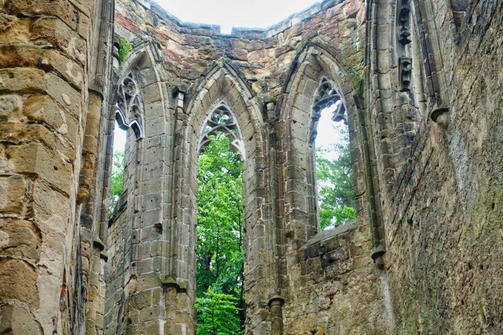 Burg- und Klosterruine in Oybin