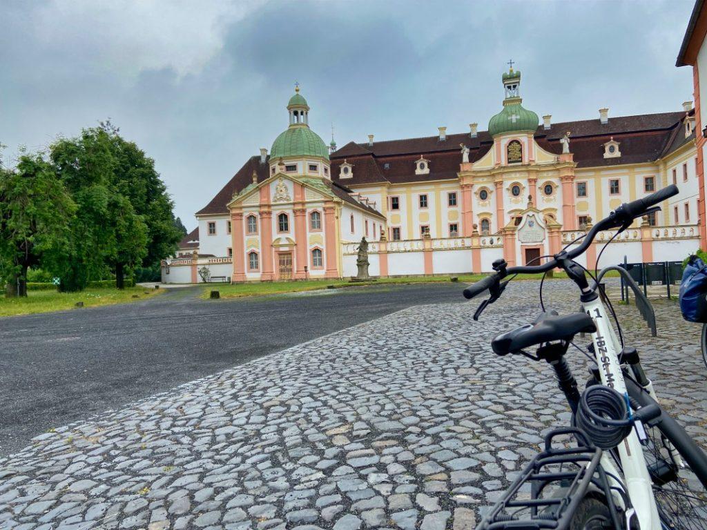 Fahrrad Kloster St.Marienthal - Via Sacra Radpilgern