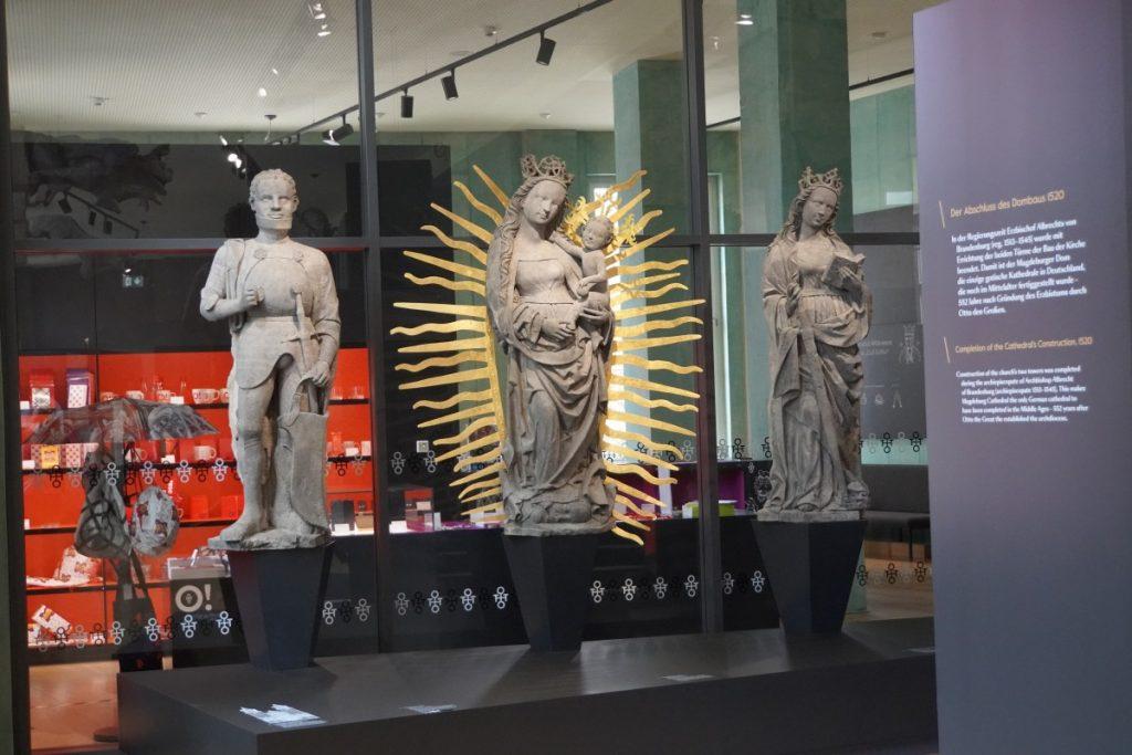 Figuren aus dem Magdeburger Dom