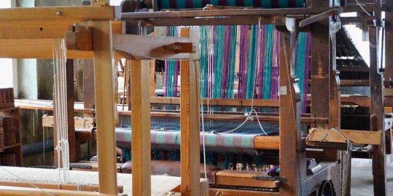 Tuchfabrik Pfau Webstühle