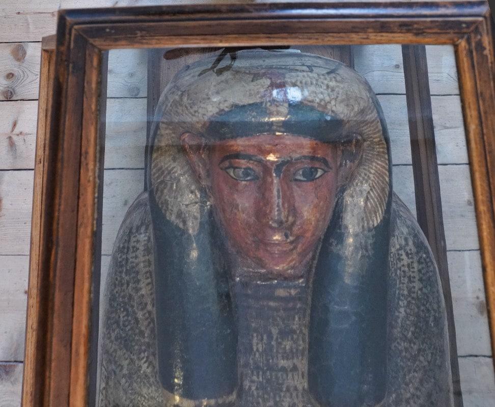 Mumie im Naturalienkabinett Waldenburg