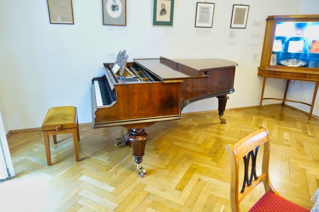 Klavier im Robert-Schumann-Haus