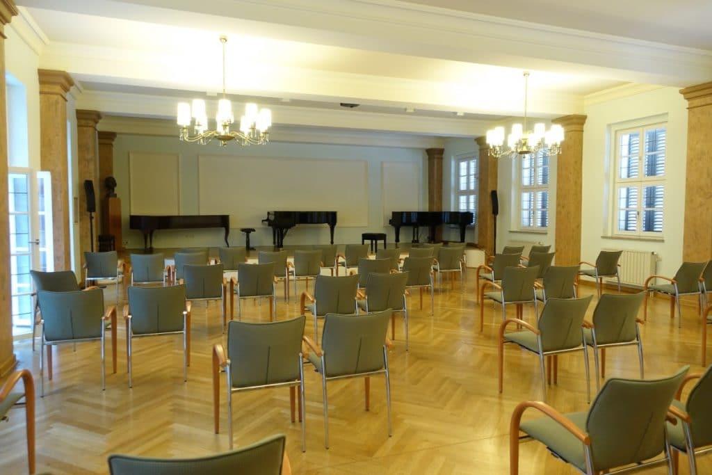 Kammermusiksaal im Robert-Schumann-Haus