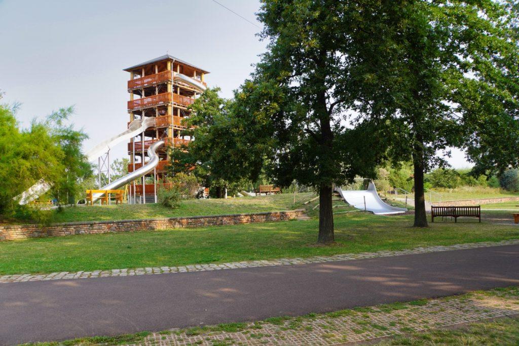 Rutschenturm in Magdeburg