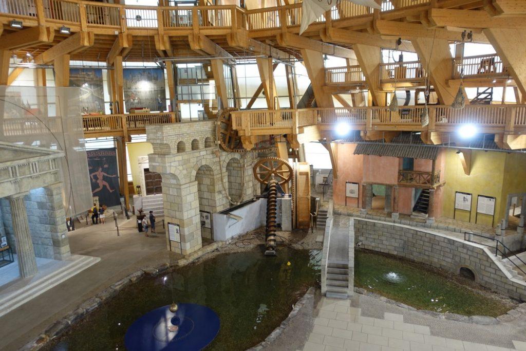 Elbauenpark Jahrtausendturm Ausstellung