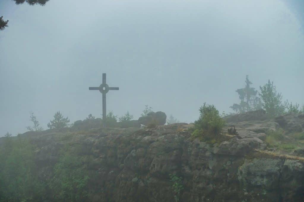 Gipfelkreuz am Töpfer
