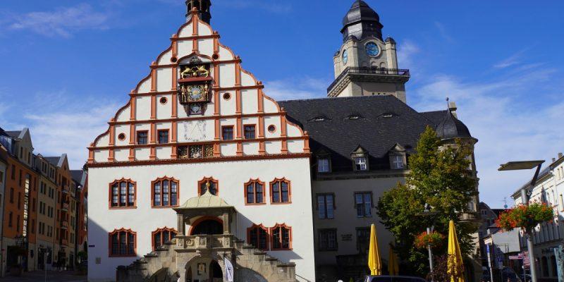 Plauen Spitzenstadt altes Rathaus