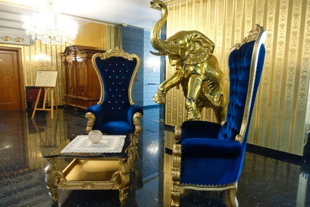 Lobby Hotel Alexandra