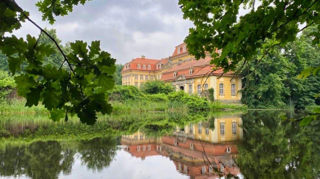 Wasserschloss in Polen