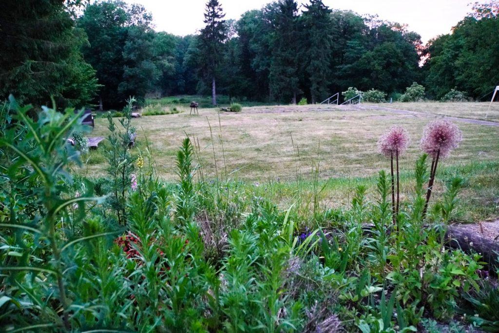Garten Gutshaus Ramin