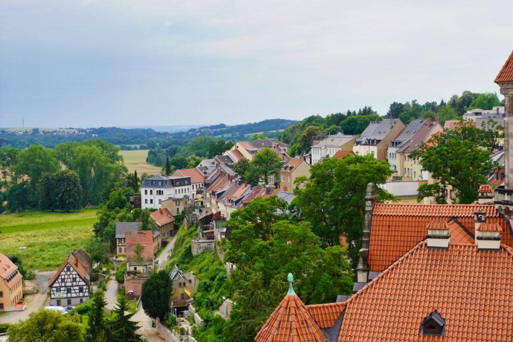 Ausblick vom Bergfried