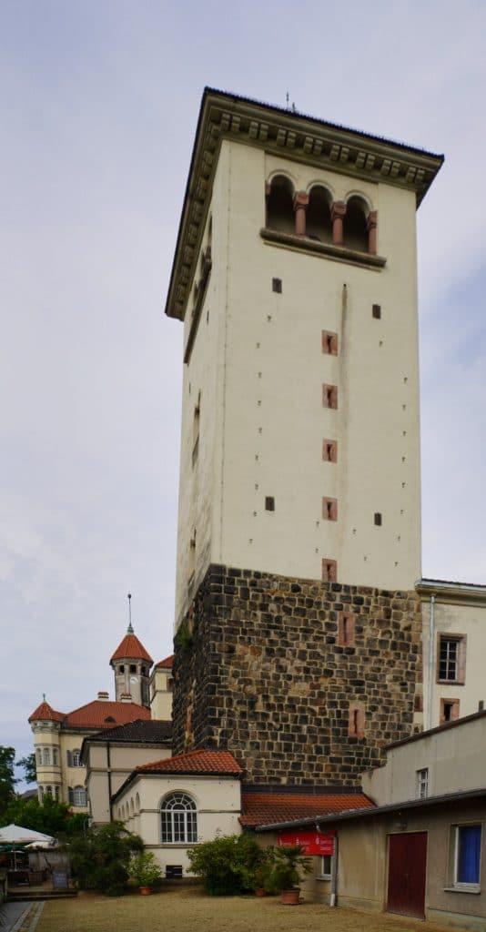 Bergfried Schloss Waldenburg