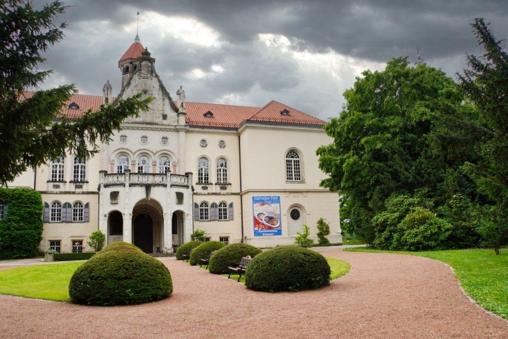 Eingang ins Schloss Waldenburg