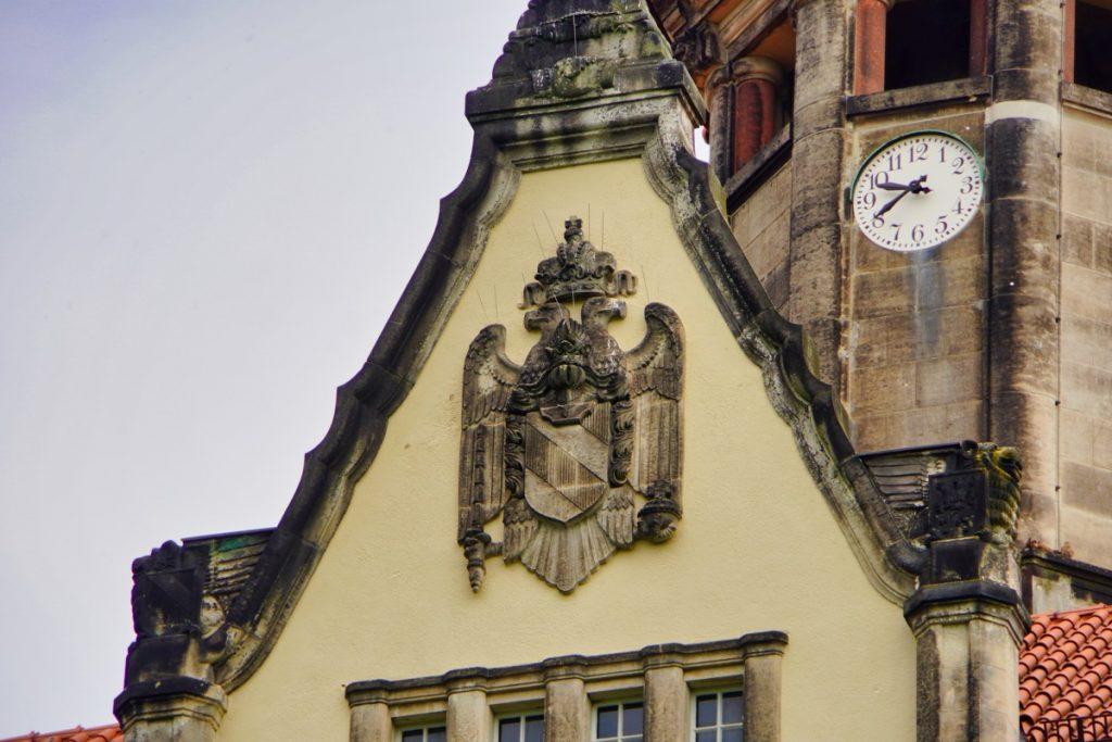 Wappen am Schloss Waldenburg