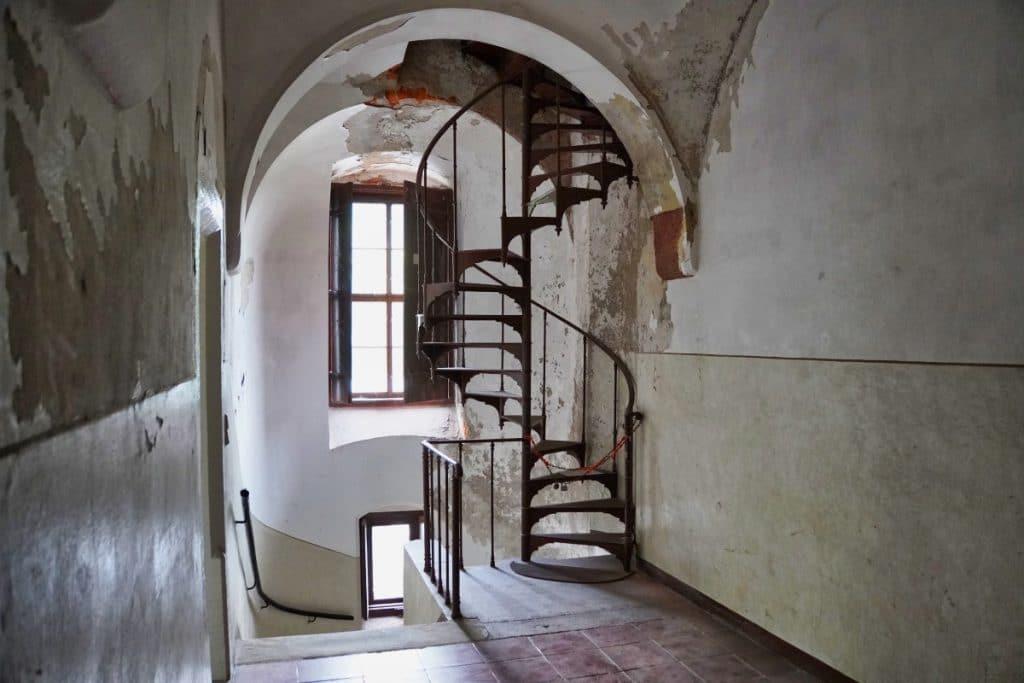 Im Bergfried Schloss Waldenburg