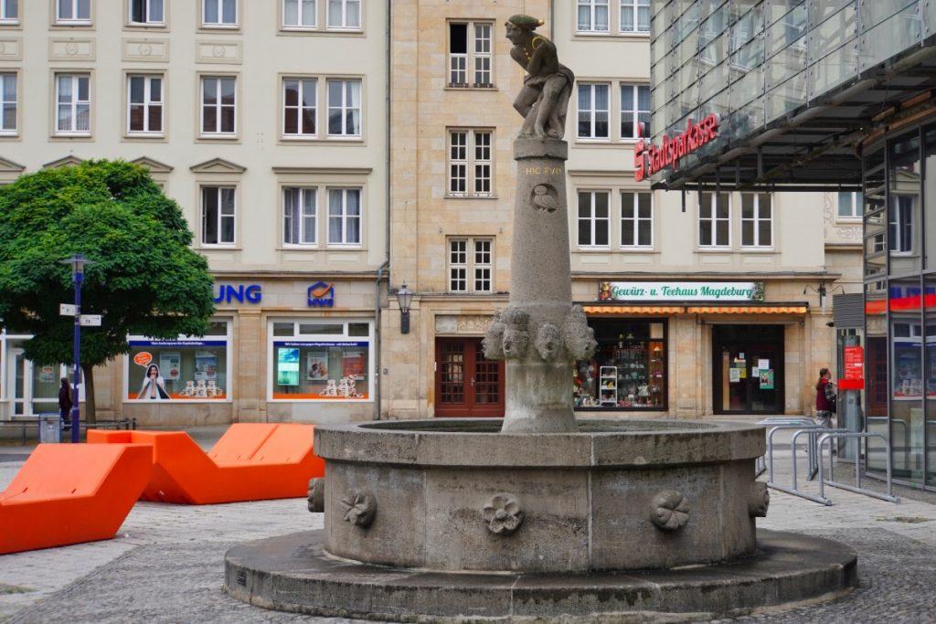 Eulenspiegelbrunnen in Magdeburg