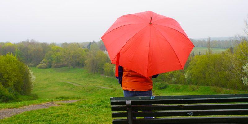Regenspazergang Freizeitpark Lübars