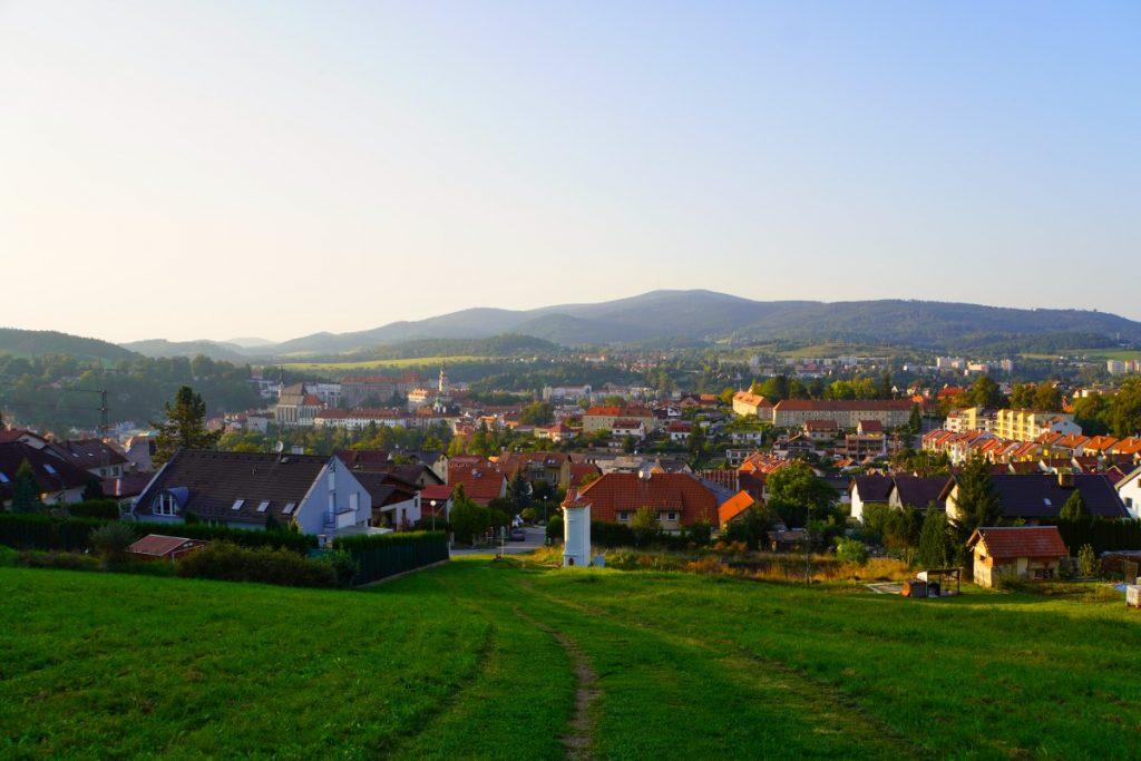 Weg zum Wallfahrtsort in Český Krumlov