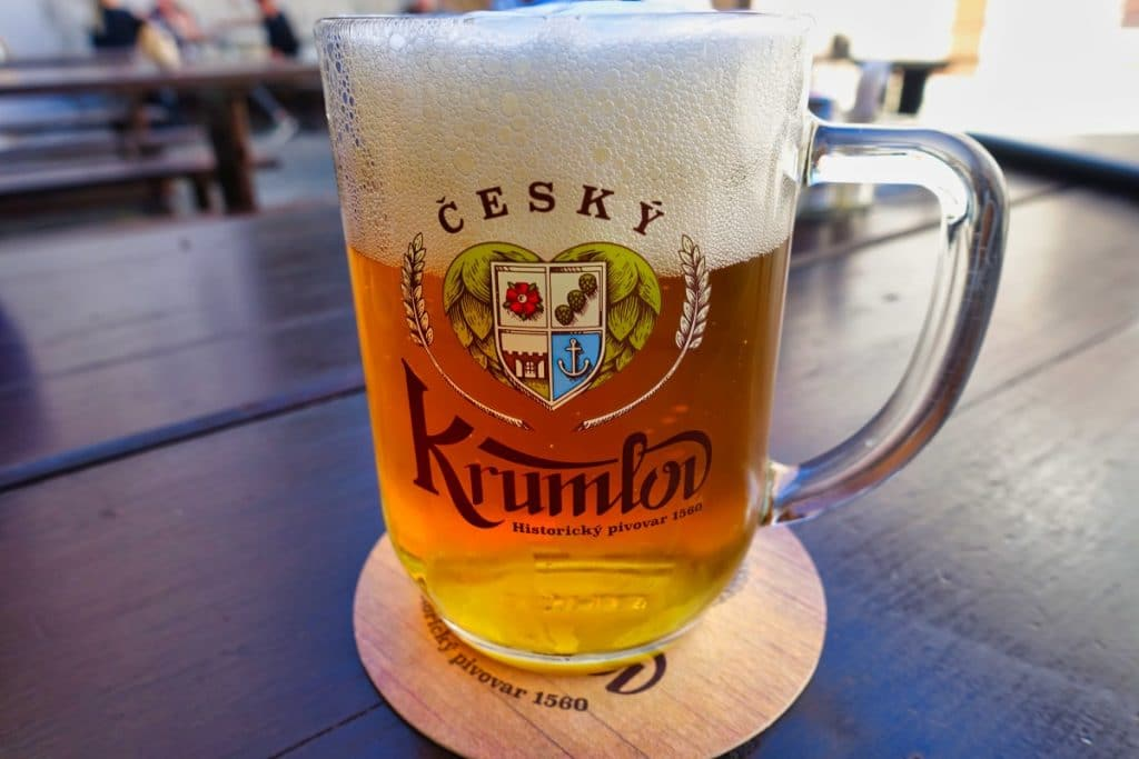 Krumlov Bier aus Český Krumlov