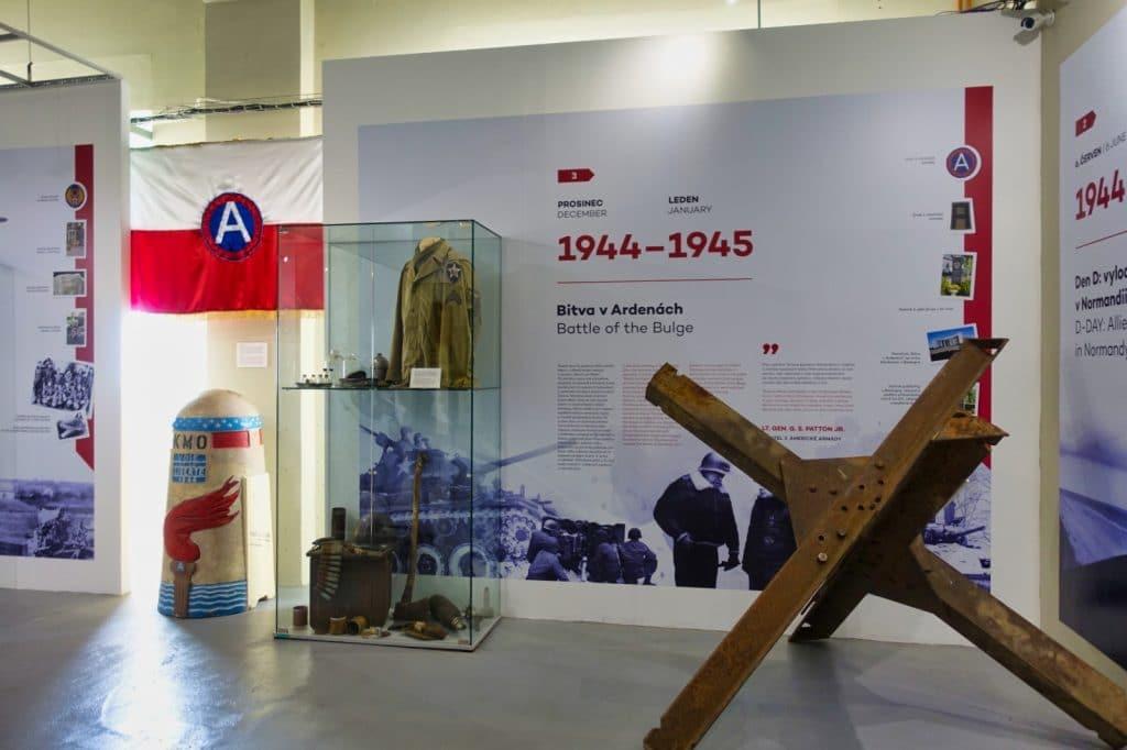 Eindrücke aus der Ausstellung im Patton Memorial Pilsen