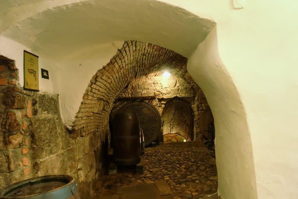 Pilsner historischer Untergrund