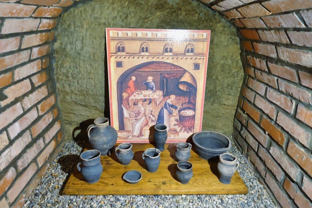 historische Funde im Untergrund von Pilsen