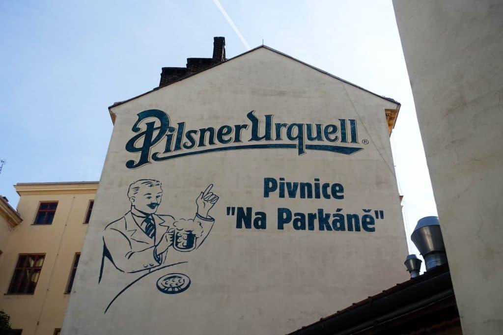 Werbung Pilsner Urquell